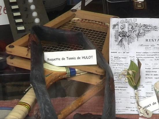 26 et 27 mai 2007, objets de PIERDEL ayant servi aux tournages des films de Jacques TATI