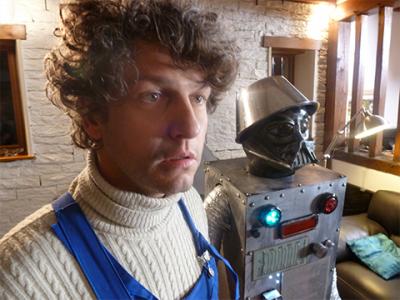 Le robot des etoiles
